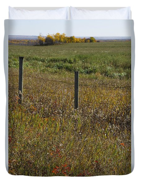 Prairie Autumn Duvet Cover
