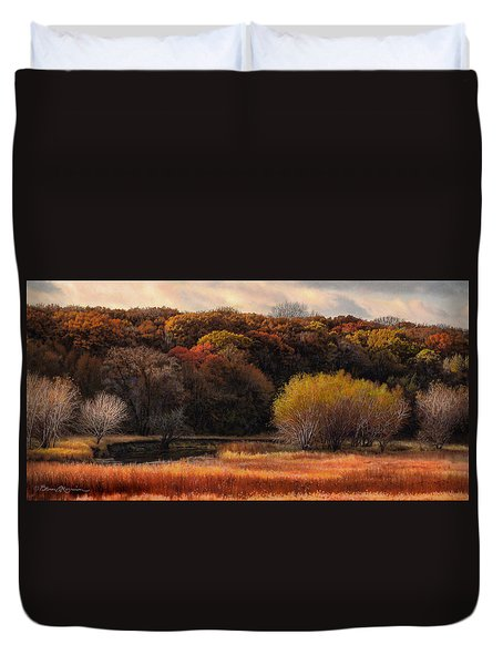 Prairie Autumn Stream Duvet Cover