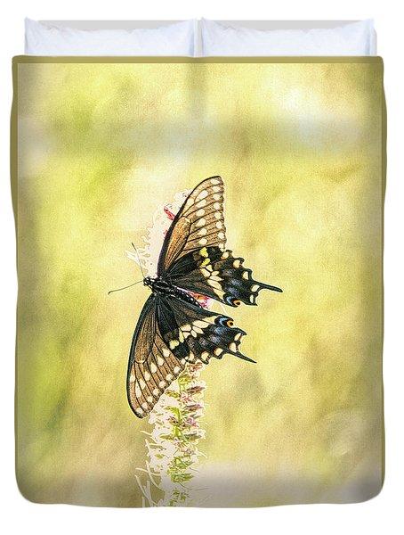 Prairie Butterfly 2 Duvet Cover