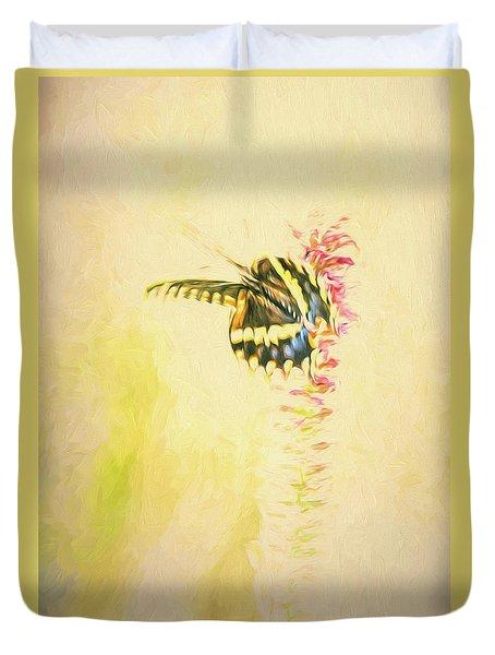 Prairie Butterfly 3 Duvet Cover