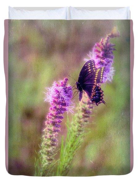 Prairie Butterfly Duvet Cover