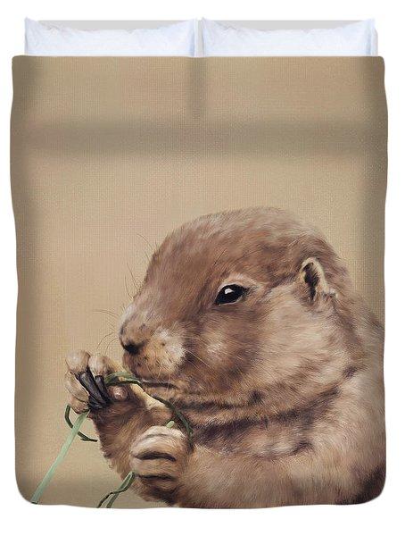 Prairie Dog Duvet Cover