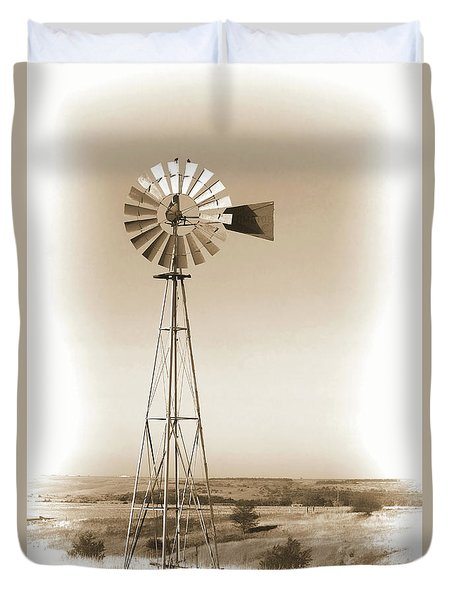Prairie Guardian Duvet Cover