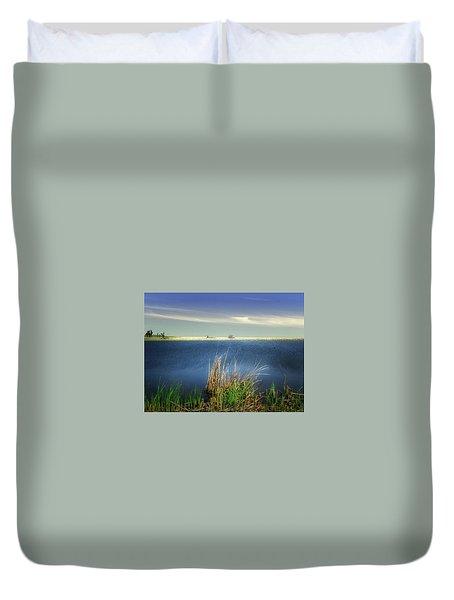 Prairie Lake Duvet Cover