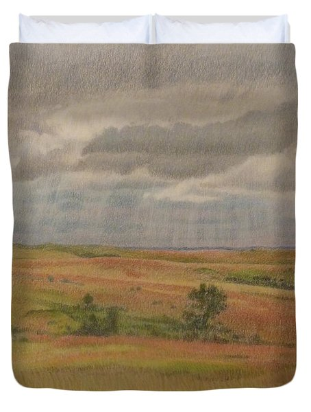 Prairie Light Duvet Cover