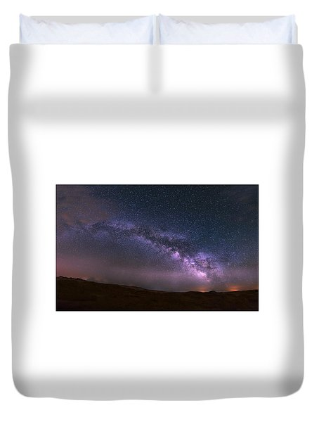 Prairie Night's Glitter Duvet Cover