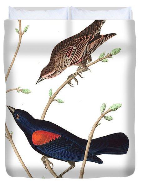 Prairie Starling Duvet Cover