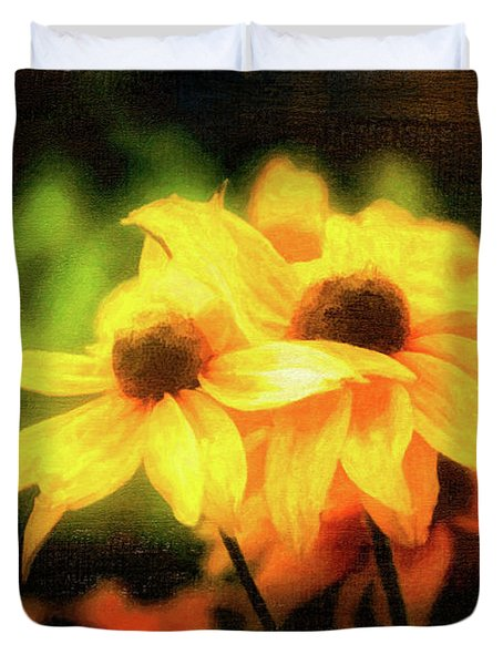 Sun Sisters Revisited Duvet Cover
