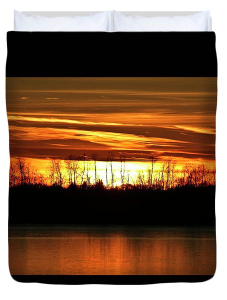 Prairie Sunset Duvet Cover