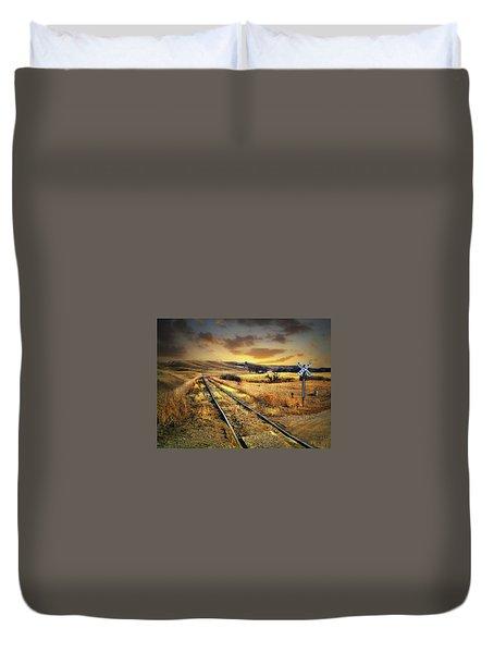 Prairie Tracks Duvet Cover