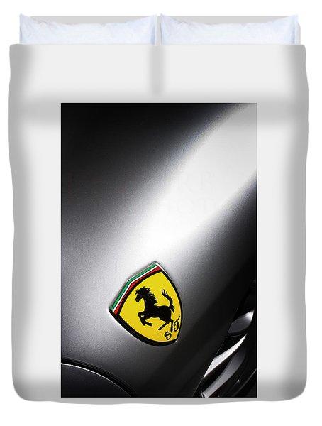 Prancing Horse Duvet Cover