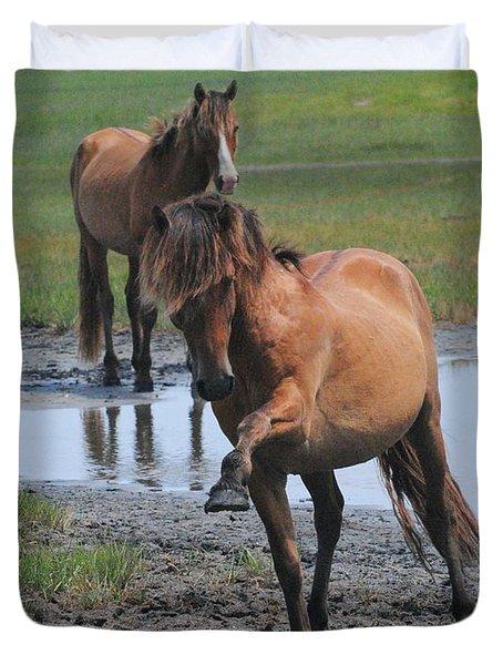 Prancing Pony Duvet Cover