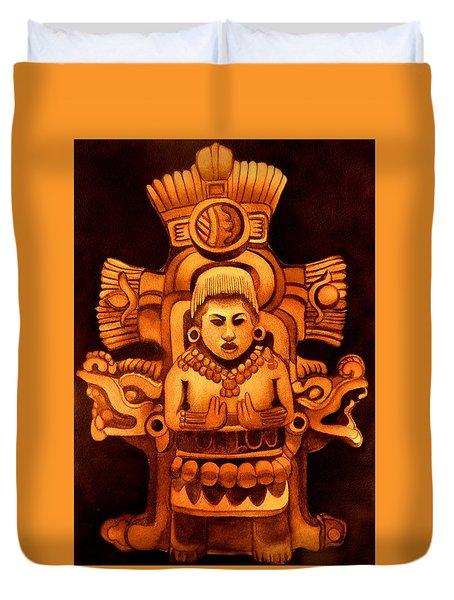 Pre Columbian Series Duvet Cover