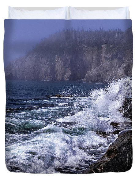 Pre Irene Surge Duvet Cover by Marty Saccone
