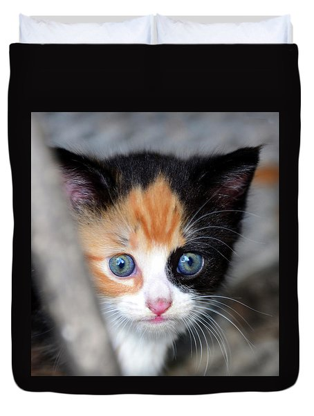 Duvet Cover featuring the photograph Precious by David Lee Thompson