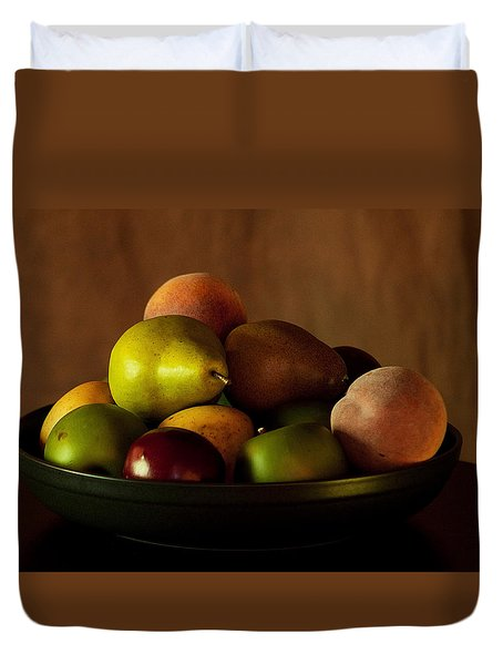 Precious Fruit Bowl Duvet Cover
