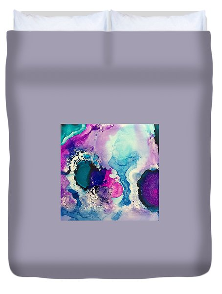 Precipice Duvet Cover by Tara Moorman