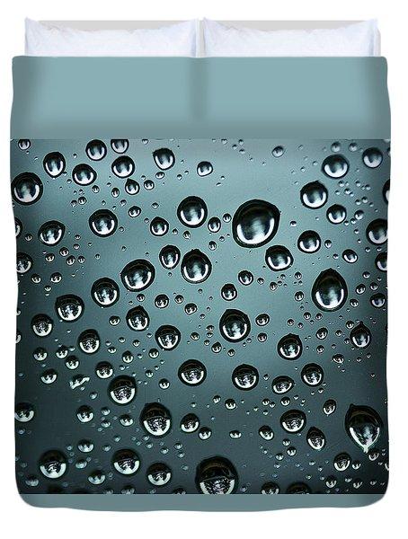 Precipitation Duvet Cover