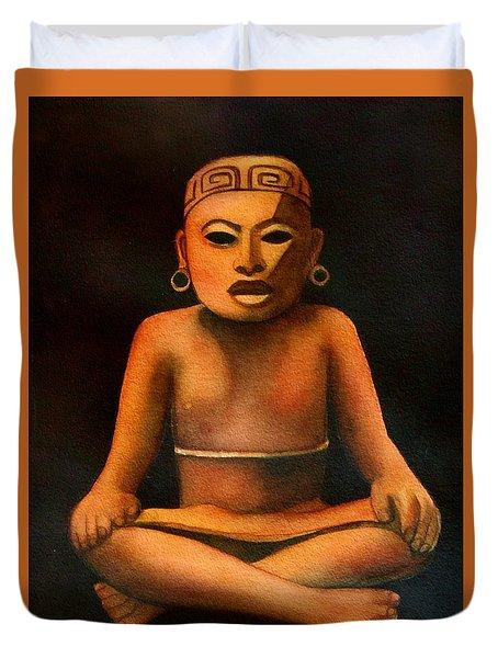 Precolumbian Series #1 Duvet Cover