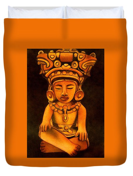 Precolumbian Series #2 Duvet Cover