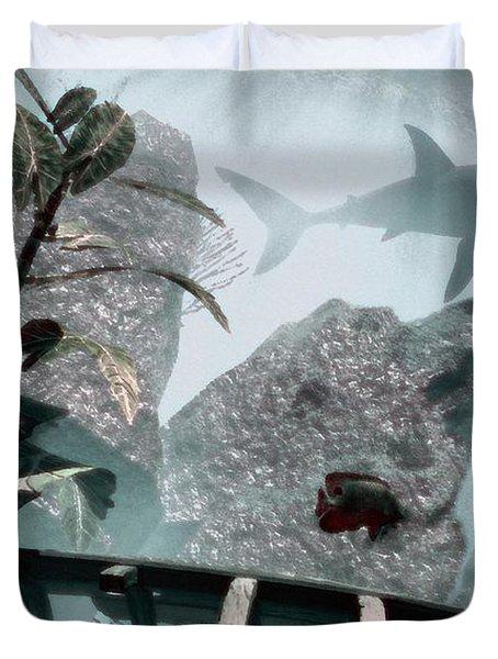 Predator Duvet Cover by Richard Rizzo