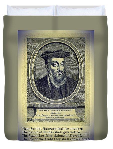 Predictions Of Nostradamus 4 Duvet Cover