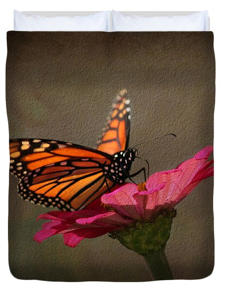 Prefect Landing - Monarch Butterfly Duvet Cover
