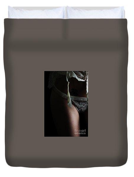Prepared Mystery  Duvet Cover