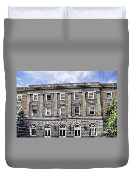Prescott Court House  Duvet Cover by Saija  Lehtonen
