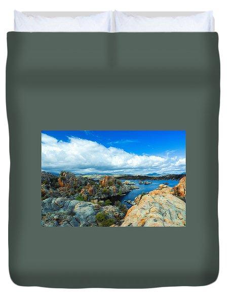 Prescott Rocks Duvet Cover