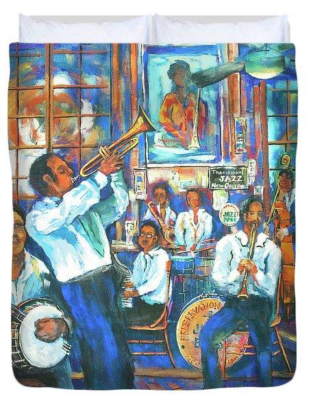 Preservation Jazz Duvet Cover