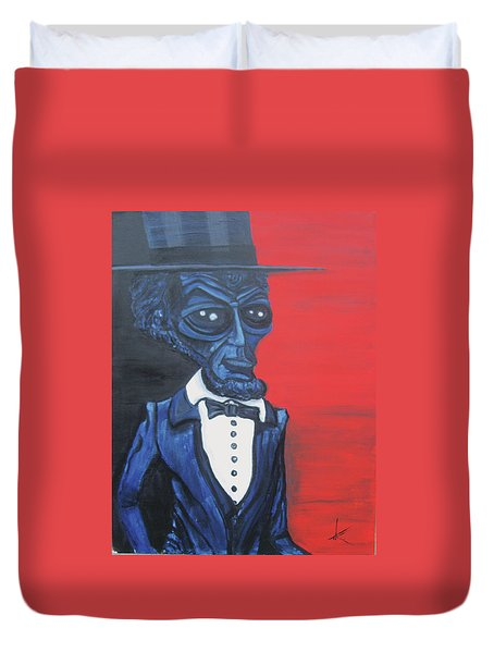 President Alienham Lincoln Duvet Cover