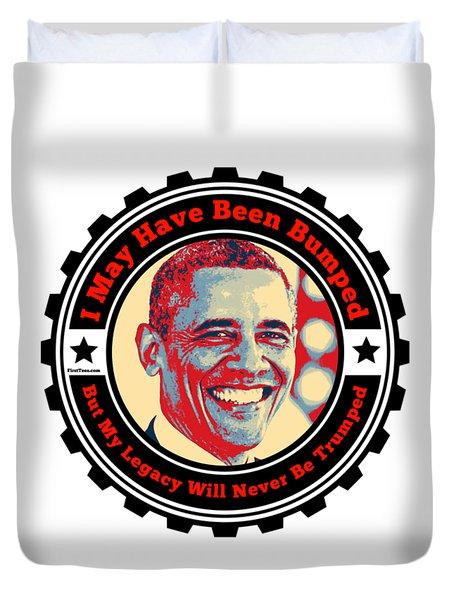 President Barack Obama  Duvet Cover
