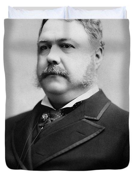 President Chester A. Arthur - 1882 Duvet Cover
