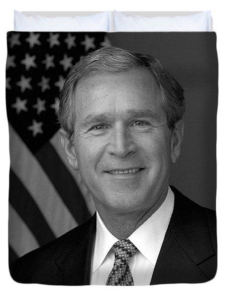 President George W. Bush Duvet Cover