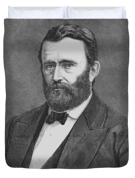 President Grant Duvet Cover by War Is Hell Store