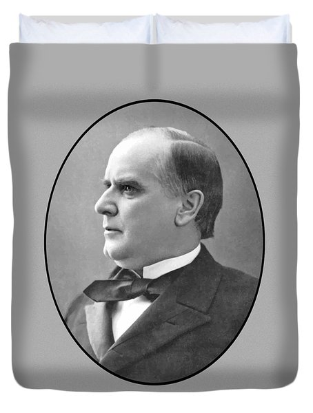 President Mckinley Duvet Cover by War Is Hell Store