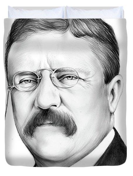 President Theodore Roosevelt 2 Duvet Cover
