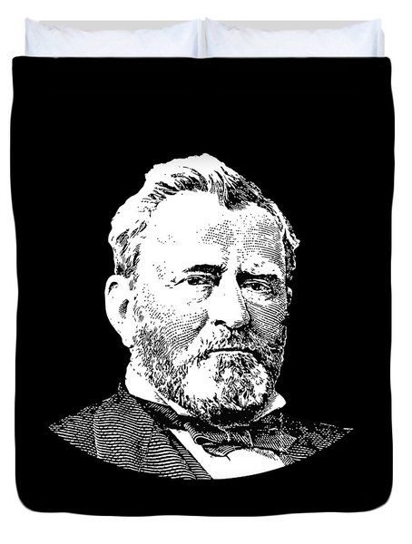 President Ulysses S. Grant Duvet Cover by War Is Hell Store