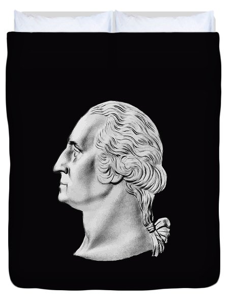 President Washington Bust  Duvet Cover by War Is Hell Store