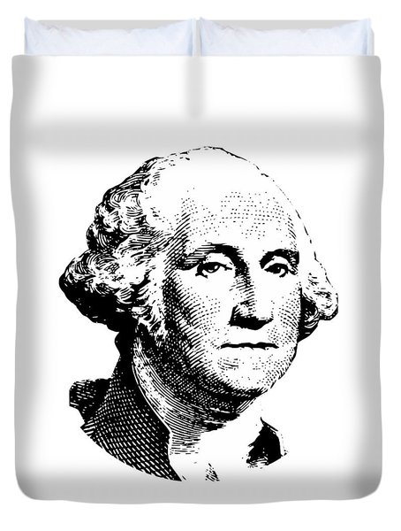 President Washington Duvet Cover by War Is Hell Store