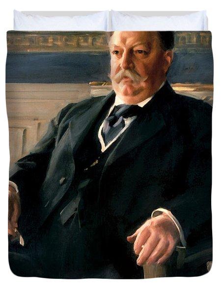 President William Howard Taft Painting - Anders Zorn Duvet Cover