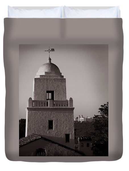 Presidio Of San Diego Duvet Cover