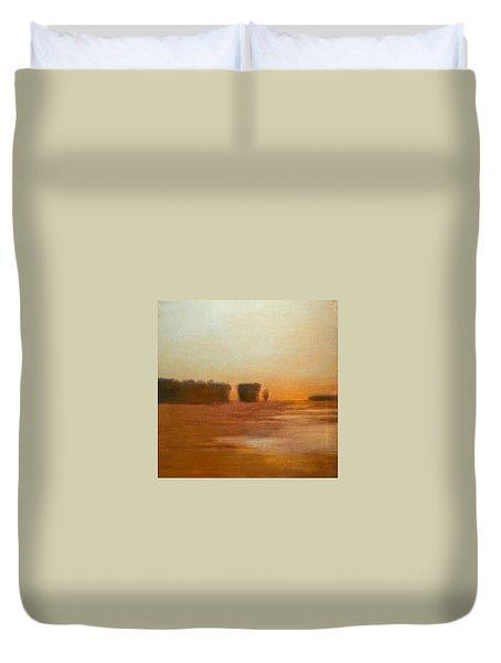 Preston After Spring Rain Creek Flood Duvet Cover