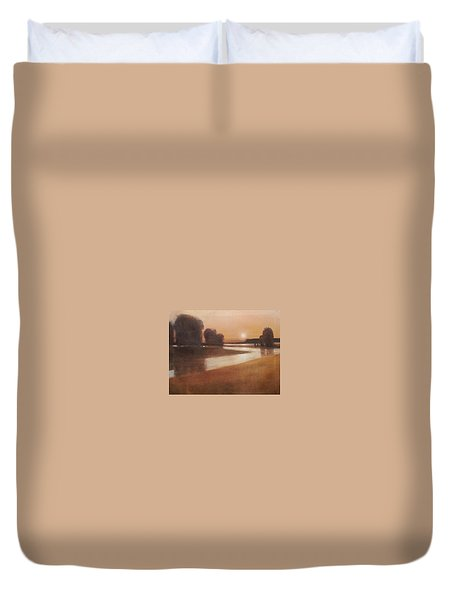 Preston Creek Flood Duvet Cover