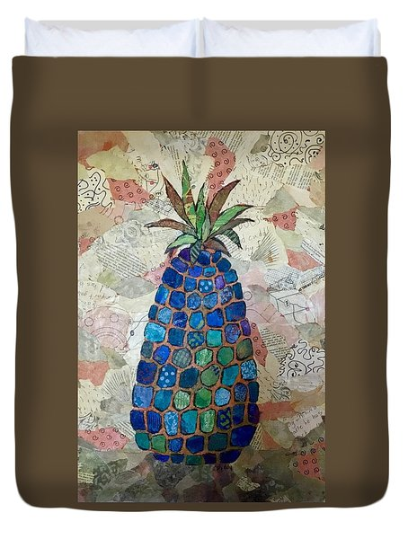 Pretend Pineapple Duvet Cover