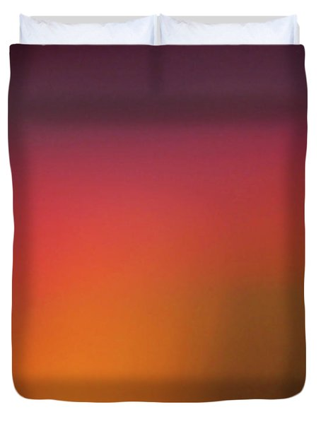 Pretend Sunrise Duvet Cover by CML Brown