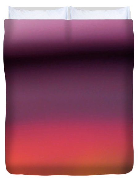 Pretend Sunset Duvet Cover