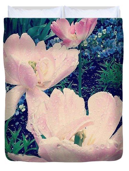 Pretty! ❤ #flowers #flower Duvet Cover