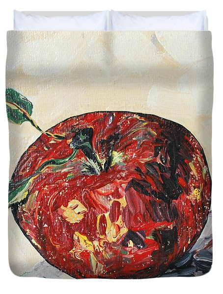 Pretty Apple Duvet Cover